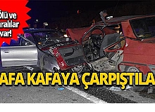 Trafik kazasında hayatını kaybetti!