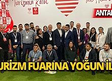 Turizmin kalbi Antalya'da muhteşem fuar