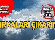 12 Kasım Antalya hava durumu