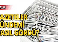 5 Kasım 2019 Antalya'nın yerel gazete manşetleri