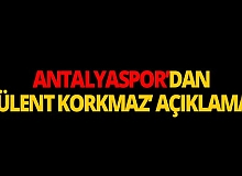 Antalyaspor'dan beklenen açıklama!