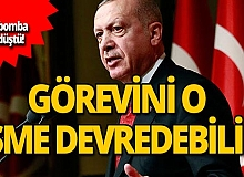 Büyük iddia! Erdoğan görevini o isme bırakabilir