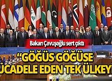 Bakan Çavuşoğlu sert çıktı!