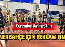 Corendon Airlines'tan Fenerbahçe için reklam filmi