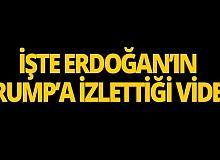 """Cumhurbaşkanı Erdoğan: """"Trump çok etkilendi"""""""