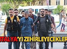 İstanbul'dan getirdiler, piyasaya sürmeden yakalandılar