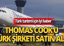 Türk turizm şirketi, Alman Thomas Cook'u satın aldı