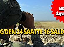 YPG'den havan ve roket atışlarıyla saldırı