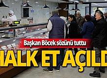 Antalyalılar müjde! Ucuz et satışı başladı