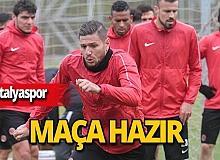 Antalyaspor Alanya'ya gitti