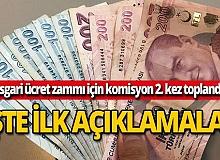 Asgari ücret zammı için komisyon 2. kez toplandı