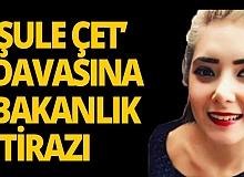 Bakanlıktan 'Şule Çet' davasına itiraz