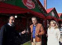 Başkan Uysal, Yeni Yıl Market'i ziyaret etti