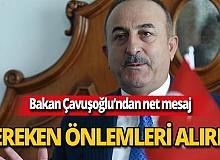 Dışişleri Bakanı Çavuşoğlu'ndan Doğu Akdeniz açıklaması