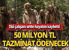 Hayatını kaybeden çalışanın ailesine 50 milyon lira tazminat