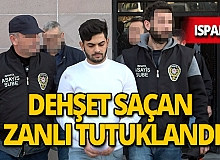 Isparta'da alkollü mekana silahla saldıran zanlı tutuklandı