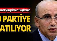Eski bakan Mehmet Şimşek'ten flaş karar! O partiye katılıyor