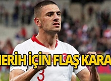 Merih için Serie A liginde flaş karar!