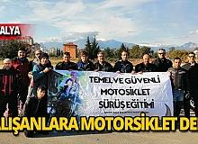 Muratpaşa personeli motorsiklet eğitiminde