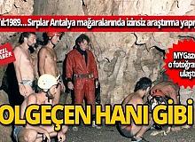 Sırplar Antalya mağaralarında izinsiz araştırma yaptı! İşte o görüntüler
