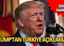 Trump'tan Türkiye açıklaması