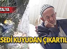 Yaşlı adamın feci ölümü