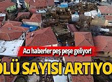 AFAD depremde hayatını kaybedenlerin sayısını açıkladı!