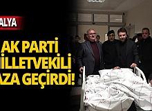 AK Parti Antalya Milletvekili ve eşi kaza geçirdi!