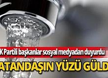 AK Partili başkanlardan büyük müjde!