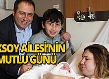 Aksoy Ailesi'nin mutlu günü