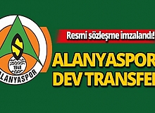 Alanyaspor'a dev transfer!