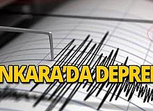 Ankara 4,5 büyüklüğünde depremle sallandı