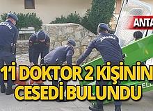 Antalya'da 1'i doktor 2 kişi ölü olarak bulundu!