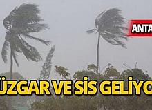 Antalya dikkat! Rüzgar ve sis geliyor