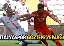 Antalyaspor Göztepe'ye 3-0 mağlup oldu
