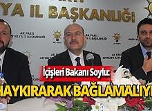 Bakan Soylu'dan AK Parti Antalya İl Başkanlığına ziyaret