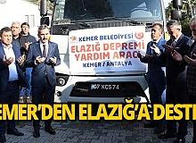 Kemer Belediyesi'nden Elazığ'a yardım desteği!