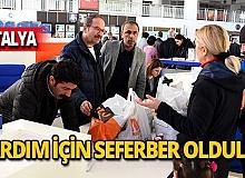 Muratpaşa'dan deprem bölgesine yardım!