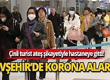 Nevşehir'de korona virüsü alarmı!