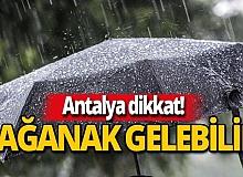 Öğleden sonra yağış gelebilir!