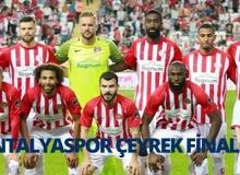 Ziraat Türkiye Kupası'nda Akdeniz fırtınası