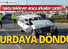 Antalya'da feci kaza: 4 yaralı!