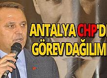 CHP Antalya görev dağılımı yaptı