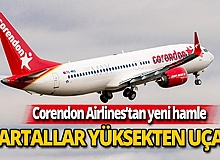 Corendon Airlines'ten yeni hamle