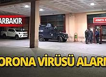 Corona virüsü sebebiyle hastane giriş ve çıkışları kapatıldı