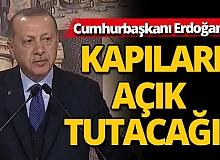 Cumhurbaşkanı Erdoğan canlı yayında açıkladı