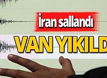 İran'da deprem oldu