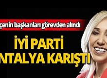 İyi Parti Antalya'da iki ilçeye yeni atama yapıldı!