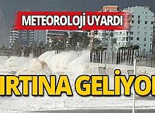 Meteoroloji uyardı: Fırtınaya dikkat!