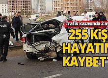 2020 yılının ilk 2 ayında 61 bin 482 trafik kazası oldu